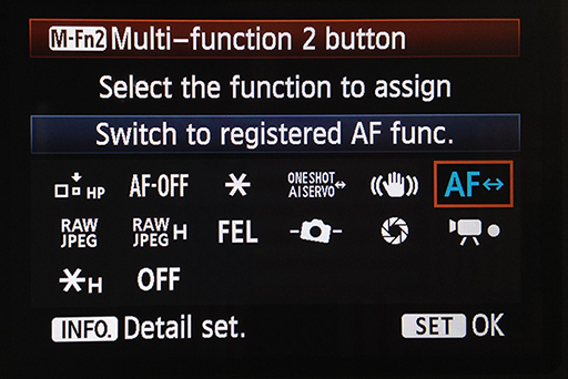 available custom functions.